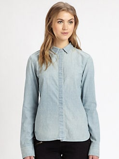 rag & bone/JEAN - Classic Chambray Shirt
