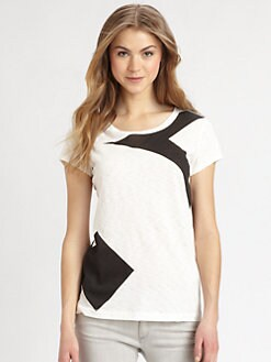 rag & bone/JEAN - Large Arrow Contrast Tee