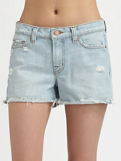 J Brand - Cut-Off Denim Shorts