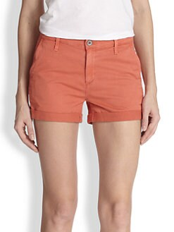 AG Adriano Goldschmied - Stretch Cotton Shorts