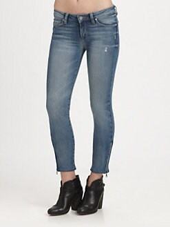 Genetic Denim - The James Cropped Skinny Jeans