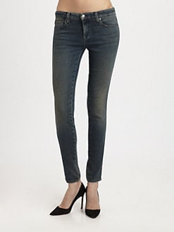 Genetic Denim - The Shiya Mid-Rise Skinny Jeans