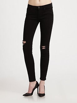 Hudson - Nico Mid-Rise Super Skinny Jeans/Vintage Vienna