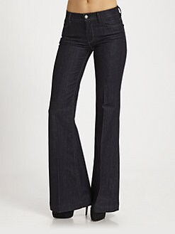 7 For All Mankind - Ginger Wide-Leg Jeans