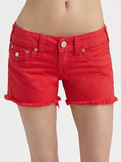True Religion - Keira Cut-Off Shorts