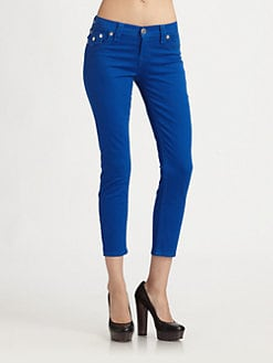True Religion - Brooklyn Cropped Jeans