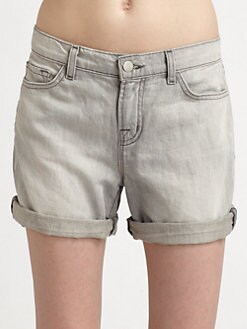 J Brand - Nash Cuffed Mid-Rise Denim Shorts