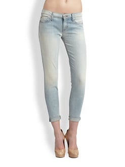 Hudson - Harkin Super Skinny Rolled Jeans