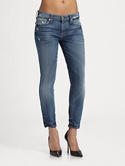 7 For All Mankind - Gwenevere Crop Jeans
