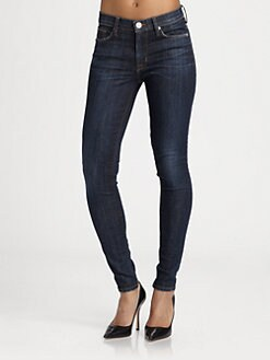 Hudson - Nico Mid-Rise Super Skinny Jeans