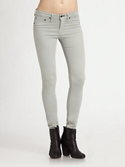 rag & bone/JEAN - The Legging Skinny Jeans/Putty