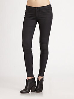 rag & bone/JEAN - Devi Lace-Up Skinny Jeans