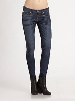rag & bone/JEAN - The Skinny Jeans/Clean Charing