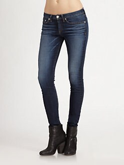rag & bone/JEAN - The High-Rise Skinny Jeans/Chesire