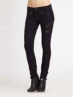 rag & bone/JEAN - Lariat Skinny Jeans/Midnight