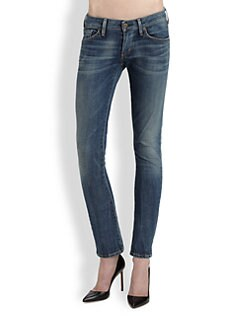 Citizens of Humanity - Racer Low-Rise Skinny Jeans