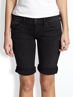 True Religion - Savannah Slim Bermuda Shorts