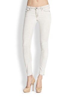 MOTHER - The Looker Ankle Skinny Jeans/Pop Driftwood