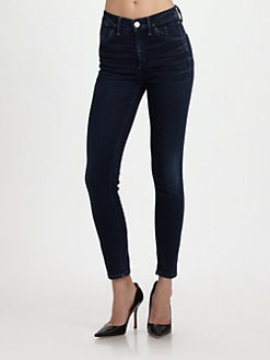 Goldsign - High-Rise Skinny Jeans