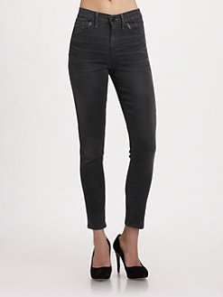 Goldsign - Mia High-Waist Skinny Jeans