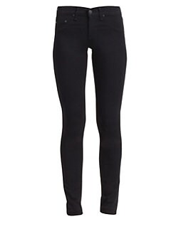 rag & bone/JEAN - Five-Pocket Legging/Black