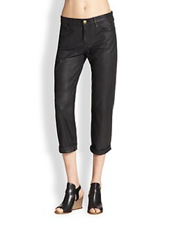 Current/Elliott - The Boyfriend Goatskin Jeans