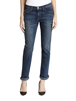 Current/Elliott - The Fling Boyfriend-Fit Jeans