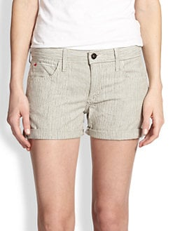 Joe's - Suko Striped Denim Shorts