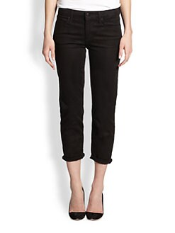 Joe's - Jett Cropped Straight-Leg Jeans