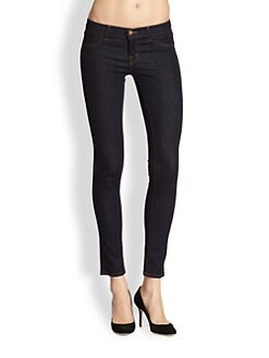 J Brand - Low-Rise Denim Leggings