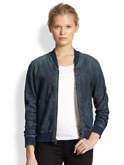 AG Adriano Goldschmied - Tek Denim Bomber Jacket
