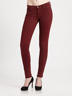 7 For All Mankind - The Slim Illusion Twill Skinny Jeans