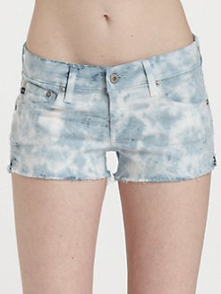 AG Adriano Goldschmied - Daisy Tie-Dyed Cut-Off Shorts