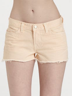 J Brand - Low-Rise Cut-Off Shorts
