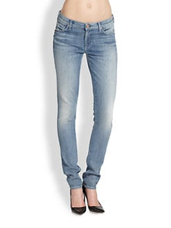 7 For All Mankind - Roxanne Faded Cigarette Jeans