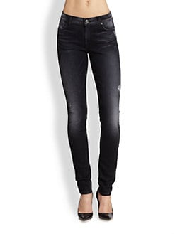 7 For All Mankind - The Skinny Distressed Jeans