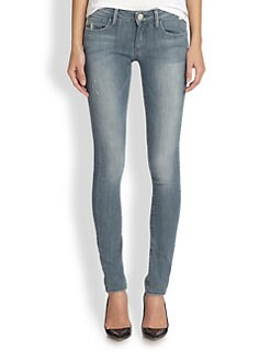 True Religion - Jude Low-Rise Skinny Jeans
