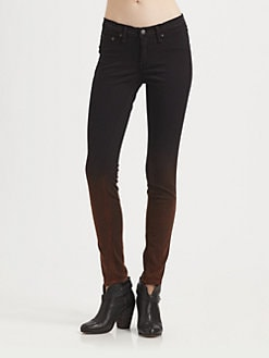 rag & bone/JEAN - The Legging Ombre Skinny Jeans