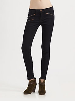 rag & bone/JEAN - RBW 9 Zip Skinny Jeans