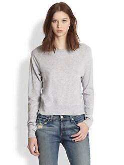 rag & bone/JEAN - Cotton Jersey Sweatshirt