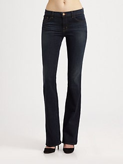 J Brand - Maria High-Rise Skinny Jeans