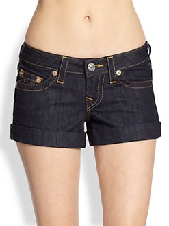 True Religion - Allie Denim Shorts
