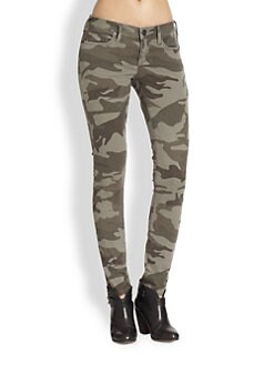 True Religion - Casey Camouflage-Print Skinny Pants
