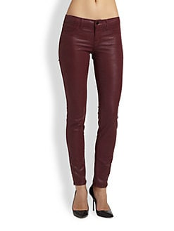 J Brand - Coated Skinny Jeans