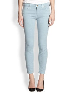 7 For All Mankind - Skinny 28 Jacquard Ankle Jeans