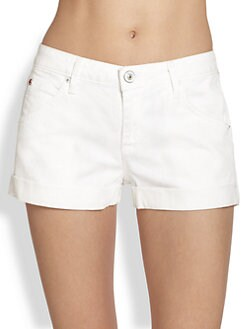 Hudson - Hampton Denim Cuff Shorts