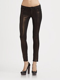 AG Adriano Goldschmied - Metallic Leggings