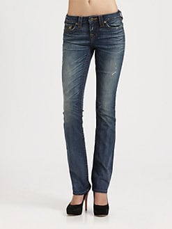 True Religion - Avery Straight-Leg Jeans
