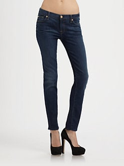 7 For All Mankind - Soso Sophisticated Cigarette Jeans