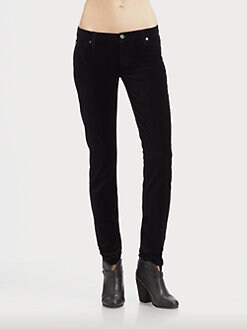 7 For All Mankind - Riche Touch Velvet Skinny Jeans